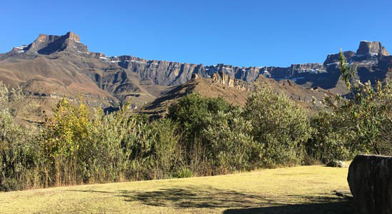 View from the lodge - Thendele Camp