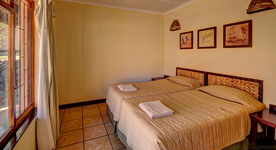 4 bed Chalet Bedroom Thendele Camp Self-Catering Drakensberg Accommodation Upper Camp Royal Natal Park