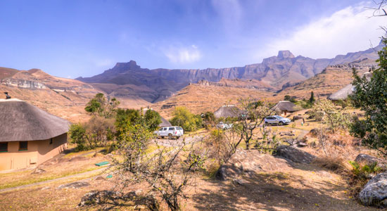 Thendele Camp Self-Catering Amphitheatre Drakensberg Accommodation Upper Camp Royal Natal Park South Africa