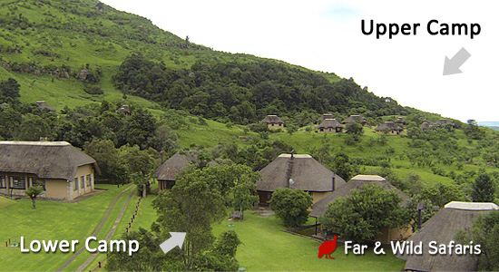 Thendele Camp Upper Camp Lower Camp Northern Drakensberg Royal Natal Park  Self-Catering Family Accommodation South Africa